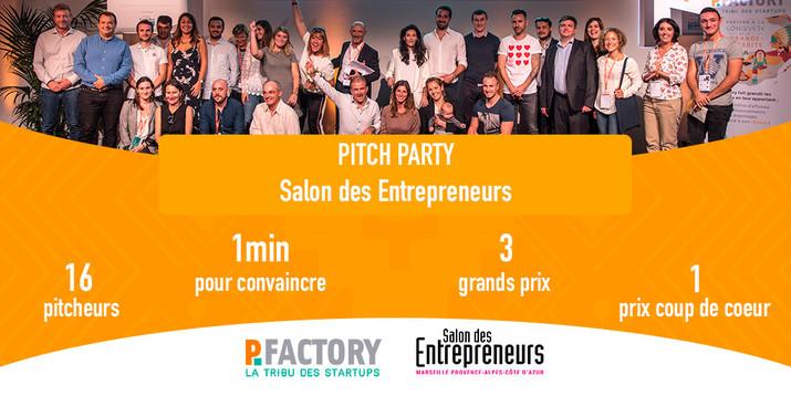 Pitchez au Salon des Entrepreneurs de Marseille !