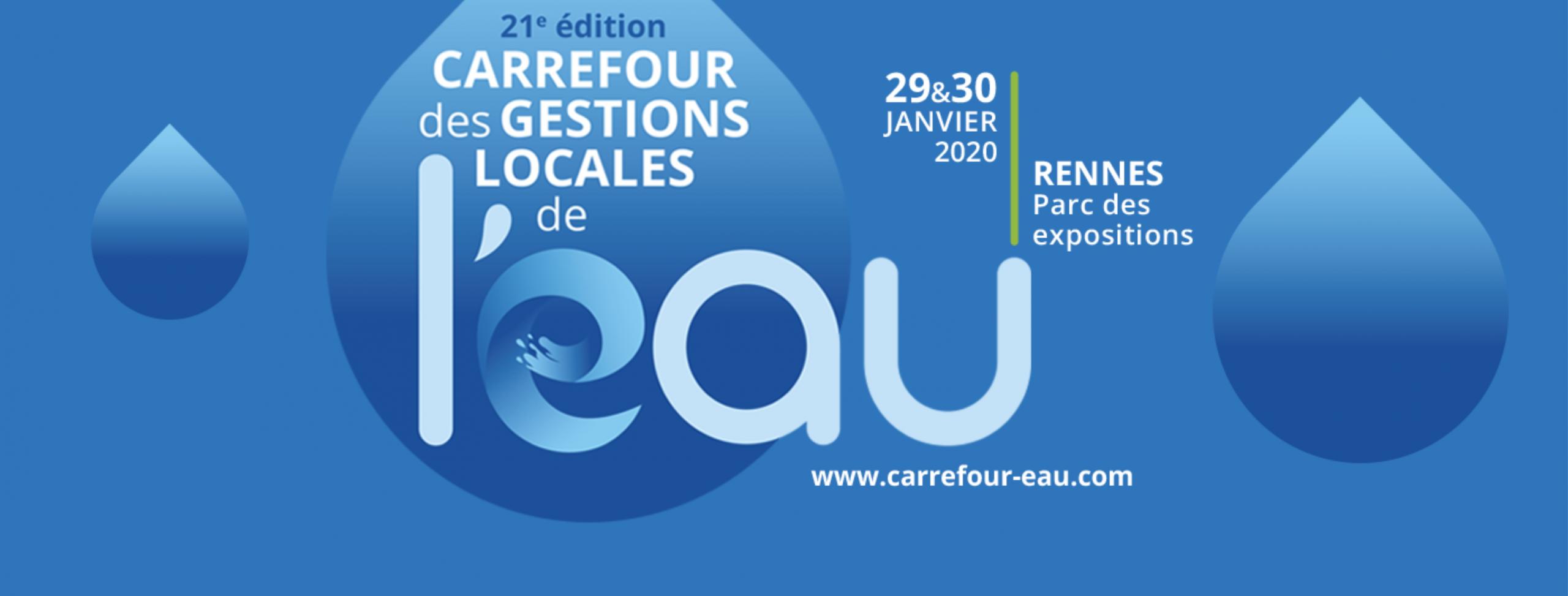 [SALON] Exposez au Carrefour des Gestions Locales de l'Eau 2020