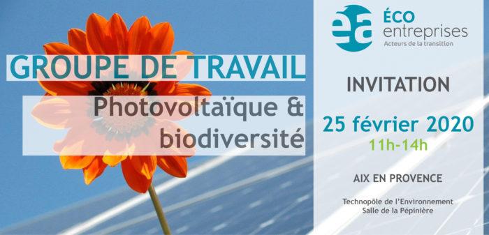 GT Photovoltaïque & Biodiversité