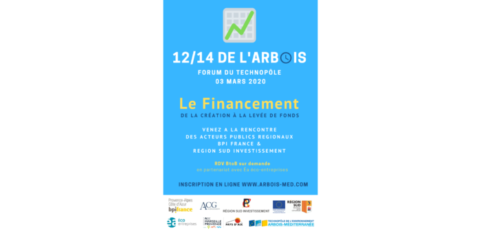 12/14 de l'Arbois Le Financement des start-up