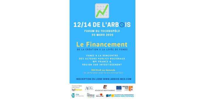 12/14 de l'Arbois Le Financement des start-up