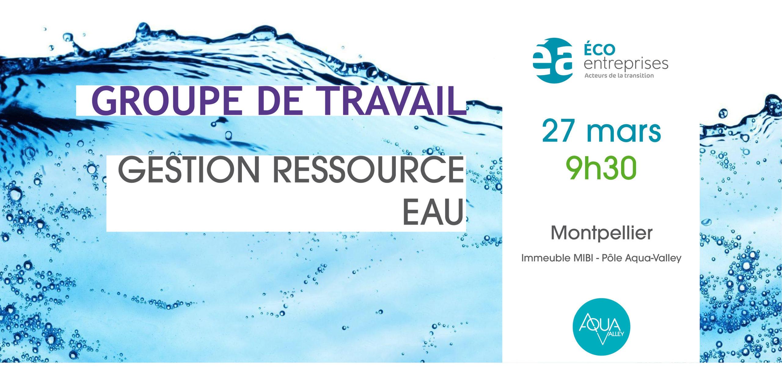 GT Gestion de la Ressources eau
