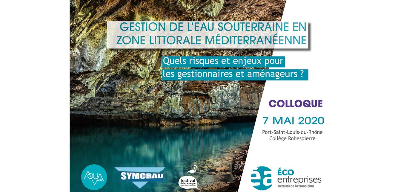 [COLLOQUE] La gestion des eaux souterraines en zone littorale méditerranéenne – REPORTÉ