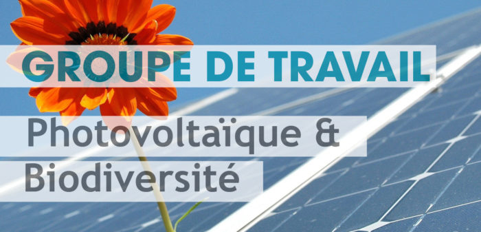 Groupe de Travail Photovoltaïque & Biodiversité