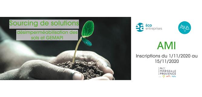 [VEILLE] AMI : Le sourcing de solutions de désimperméabilisation des sols et GEMAPI