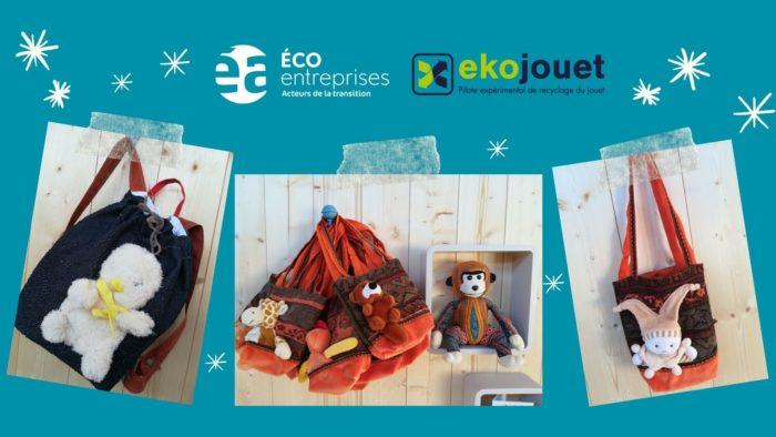 Engagez-vous aux côtés d'Ea éco-entreprises et d'Ekojouet pour un Noël circulaire et solidaire !