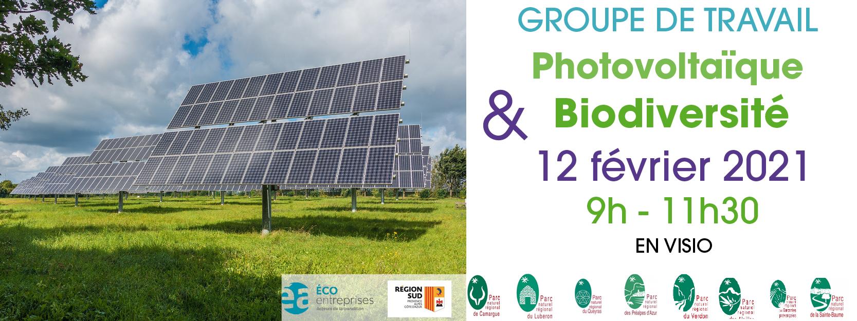 GT Photovoltaïque et Biodiversité