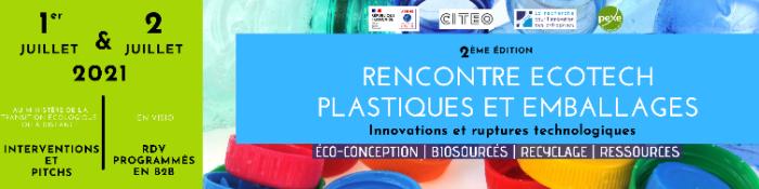 [VEILLE] Appel à contributions : Rencontre Ecotech Plastiques et Emballages 2021