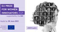 Lancement du Prix européen pour les femmes innovatrices 2021